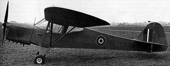 Taylorcraft Auster Mk1